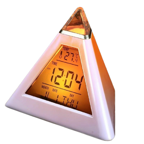 Radio réveil enfant pyramide