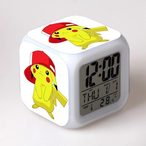 reveil pokemon pikachu blanc